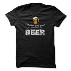 View images & photos of Todays good mood is sponsored by BEER! t-shirts & hoodies