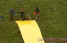 Huge Slide And Jump