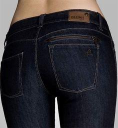 Stretch jeans waist