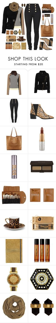 """Perfect Puffer Jackets"" by sinesnsingularities ❤ liked on Polyvore featuring IRO, Versace, Balmain, Whistles, Sole Society, Urban Decay, Laura Mercier, Claudio Riaz, Bloomingville and Asprey"