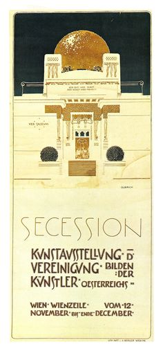 The Secession period is one of my most favourite art eras! So much design inspiration comes from it.