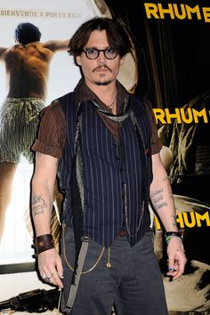 Johnny Depp will be the first male recipient to be presented the CFDA Fashion Awards in the category.