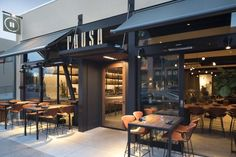 PAUSA Restaurant and Bar by CCS Architecture, San Mateo – California | Retail Design Blog | Bloglovin'