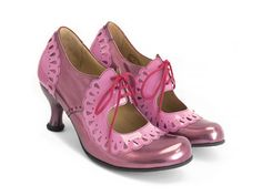 Fluevog shoes shop lottie deno (pink) mary jane with frilled edges. Shopping Meme, Mellow Yellow, Shoe Shop, Ladies Dress Design, Sock Shoes, New Shoes, Mary Janes, Me Too Shoes, Patent Leather