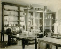 Chemical laboratory. Because every mad scientist needs one...