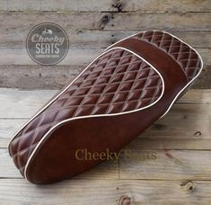 Vespa GTS Double Diamond Whiskey Handmade Scooter Seat Cover by Cheeky Seats by CheekySeats on Etsy