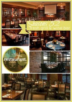 Indianapolis Restaurant Seasons 52 Fresh Grill And Wine Bar On