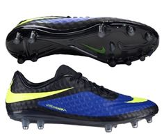 18cb2f23a5a Join the new breed of attack with the Nike Hypervenom Phantom FG Soccer  Cleats in the limited edition Hyper Blue