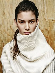 Ophelie Guillermand for Vogue Russia September 2014