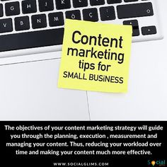 The objectives of your content marketing strategy will guide you through the planning, execution , measurement and managing your content. Thus, reducing your workload over time and making your content much more effective.