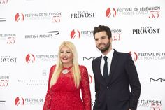 Producers Andrea Iervolino and Monika Bacardi at the Opening Ceremony of TV Festival Monte Carlo 2015!
