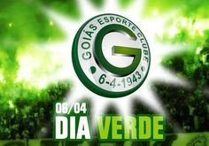 Dia VERDE - Aniversário do Goiás Esporte Clube - 06/04