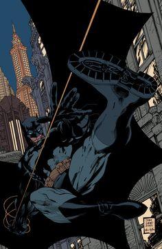 The Bat Blog | andresisbatman:   Batman: Hush Cover FLATS by...