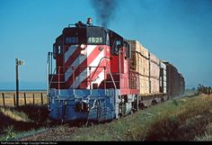 Net Photo: GWR 1621 Great Western Railway EMD at Davis Creek, California by Wendel Moran Great Western, Westerns, California