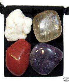 MANIFEST IDEAS Tumbled Crystal Healing Set + EXTRAS