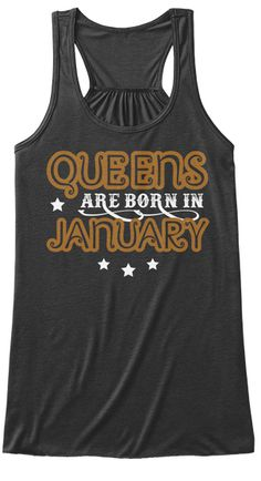 b2788f88105fcf Queens Birthday Gifts Dark Grey Heather T-Shirt Front Queen Birthday