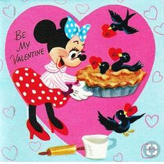 Vintage Disney Valentine with the Queen of Hearts from Alice in Wonderland. Valentines Day Greetings, Valentine Greeting Cards, Vintage Valentine Cards, Vintage Greeting Cards, Disney Valentines, Funny Valentine, Happy Valentines Day, Valentine Stuff, Retro Disney