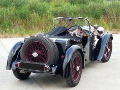 Historics в Brooklands - специалист классических и спортивных автомобилей Аукционистов - Singer Девять Ле-Ман