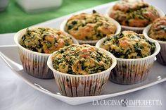 Muffin spinaci e feta