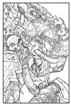 Ludo Lullabi - Masters of Anatomy Character Sketches, Character Design References, Character Art, Comic Book Artists, Comic Books Art, Comic Art, Joe Madureira, Weird Drawings, Art Drawings