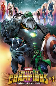 Contest of Champions (2015) #1 #Marvel #ContestOfChampions (Cover Artist: Paco Medina) Release Date: 10/7/2015