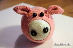 Making Sock Pig 1