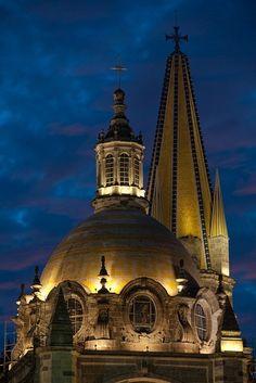 Catedral, Guadalajara Jalisco Mexico by raulmacias