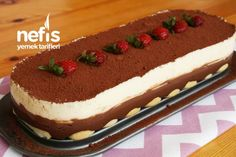 Amazing Summer Cake in 10 Minutes (with Video) - Yummy Recipes, Dessert recipes Turkish Recipes, Ethnic Recipes, Dessert Recipes, Desserts, Yummy Recipes, Cake Recipes, Summer Cakes, Food Articles, Homemade Beauty Products