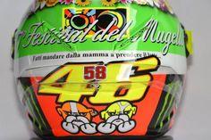 Valentino Rossi, Mugello Helmet 2012