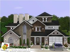 Oxyacantha Crategus house by Onyxium � Sims 3 Downloads CC Caboodle
