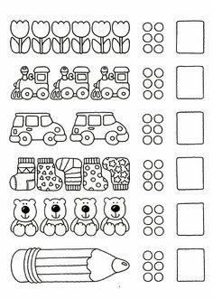 123 Manía: actividades de matemática para imprimir, resolver y colorear - Betiana 1 - Álbuns da web do Picasa Math For Kids, Fun Math, Math Games, Preschool Activities, Preschool Math, Kindergarten Worksheets, Numicon, Math Numbers, Kids And Parenting