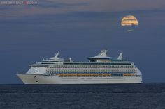 Adventure of the Seas in the Canary Islands.