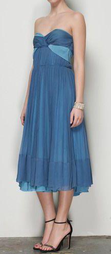68851a59db6 Chloe Pale Blue And Baby Blue Chiffon Dress