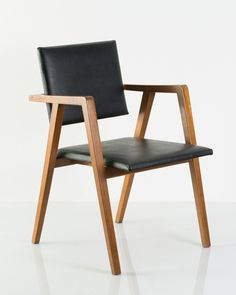 Franco Albini, prototype chair, 1950. Poggi, Italy. Via Quittenbaum