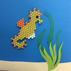 This #aquabeads Seahorse loves to explore under the sea!