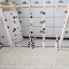 Monochrome Wood Baby Gym Toy Play Gym PlayGym door styledbynaomi - Tap the pin if you love super heroes too! Cause guess what? you will LOVE these super hero fitness shirts!