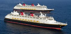 The Disney Magic - what better ship to sail on especially with special friends!