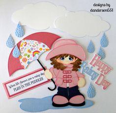 listed on ebay...danderson651 Girl, Rain, Umbrella, Paper Piecing, Embellishments, Scrapbooking, PreMade, Borders facebook - danderson651 paperdesignz.com
