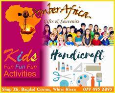 Art Handcraft in White River Bagdad, Africa Art, Fun Activities For Kids, Cool Kids, Amber, Arts And Crafts, Gifts, African Art, Fun Kids Activities