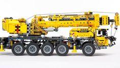 Mobilkran von Lego Technic: Ein Typ für schwere Einsätze