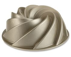 """""""Nordicware Commercial Heritage Bundt Cake Pan, 10 Cup Capacity by Nordic Ware at BakeDeco. Shop for Nordicware Commercial Heritage Bundt Cake Pan, 10 Cup Capacity from Bakeware / Cake Pans / Bundt Baking Pans at affordable prices."""