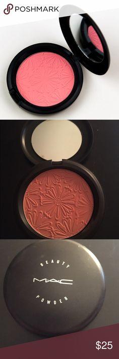 Mac alpha girl •Mac cosmetics alpha girl beauty powder /blush  •Limited edition print/style   •100% authentic   •Brand new never used MAC Cosmetics Makeup Blush