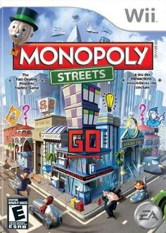 Monopoly Streets - Nintendo Wii by Electronic Arts. Playstation Wii, Ps4, Xbox 360, Wii U Games, Arcade Games, Latest Video Games, Monopoly Game, Electronic Art, Tk Maxx