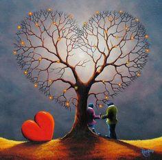 Heart tree 7