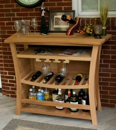 55 in. Outdoor Bar