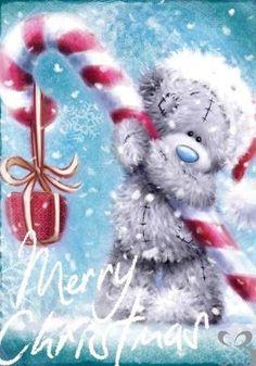 Tatty Teddy ♥ Me to You ♥ Merry Christmas. Christmas Quotes, Christmas Pictures, Christmas Art, Christmas Greetings, All Things Christmas, Winter Christmas, Vintage Christmas, Xmas, Tatty Teddy
