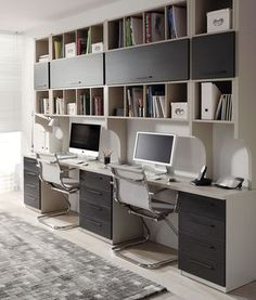 Modern Home Office Design Ideas For Inspiration - Di Home Design Office Setup, Office Workspace, Office Decor, Office Ideas, Office Interior Design, Office Interiors, Home Interior, Home Office Space, Small Office