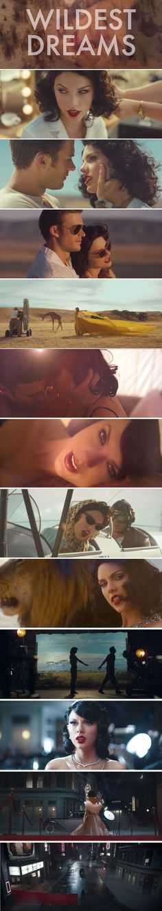 Taylor Swift-Wildest Dreams Music Video