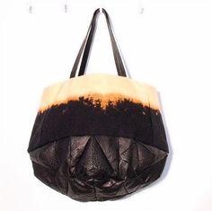 """Black Mold Dark Crystal Bag"" by Genevieve Savard on Etsy"
