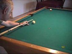 Pool and billiards backspin draw shot challenge drills, from VEPP I (NV Hvac Filters, Play Pool, Pool Cues, Pool Table, Table Games, Fun Games, Drill, Tables, Knowledge